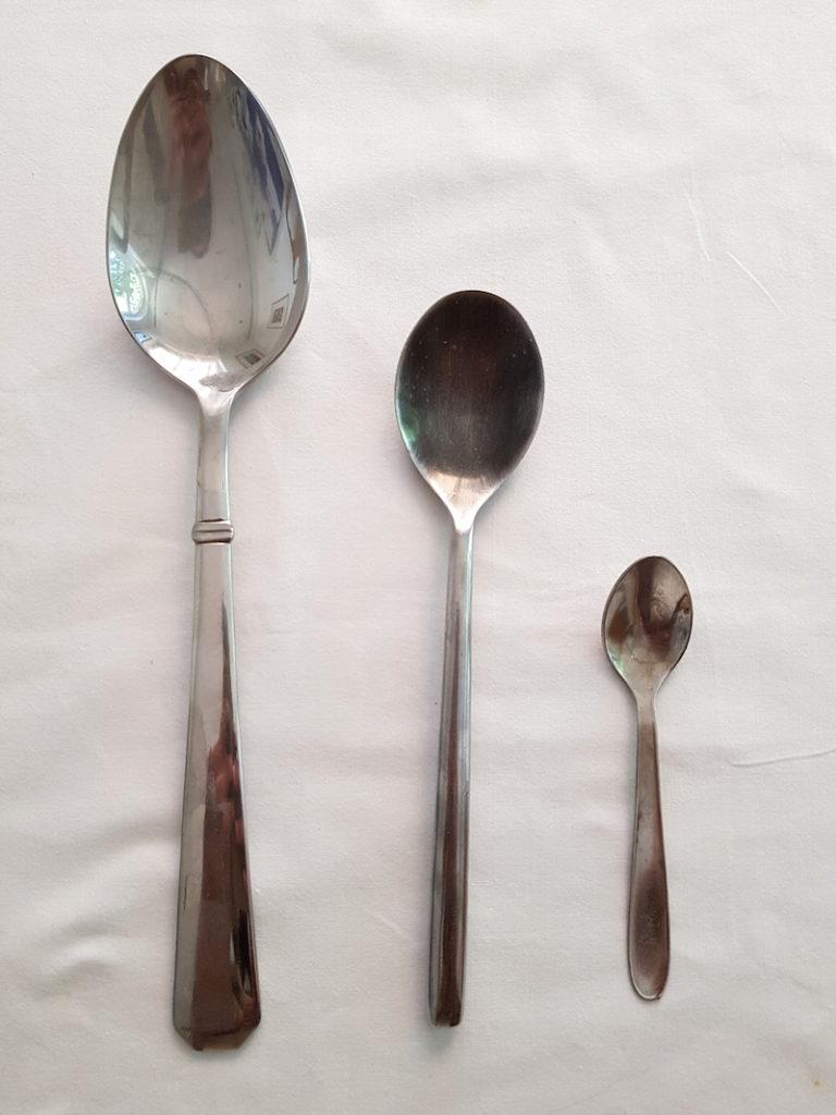 Fish Fillets DoinDubai Spoon Sizes for recipe
