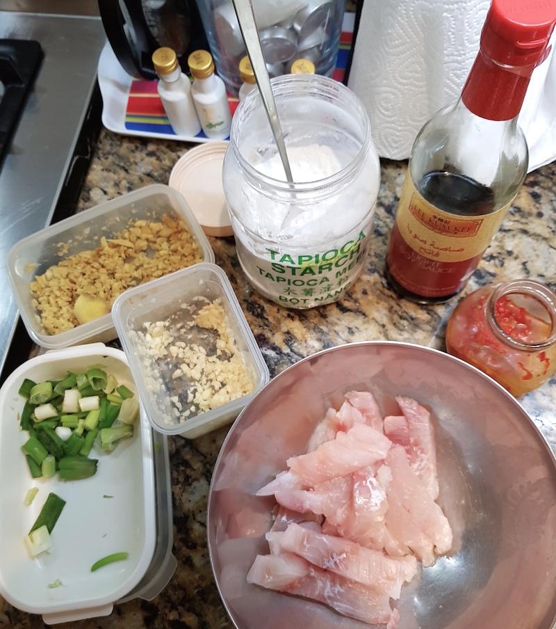 Fish Fillets DoinDubai marinade ingredients
