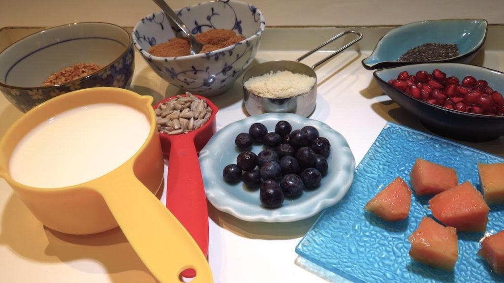 Paleo Porridge DoinDubai Ingredients