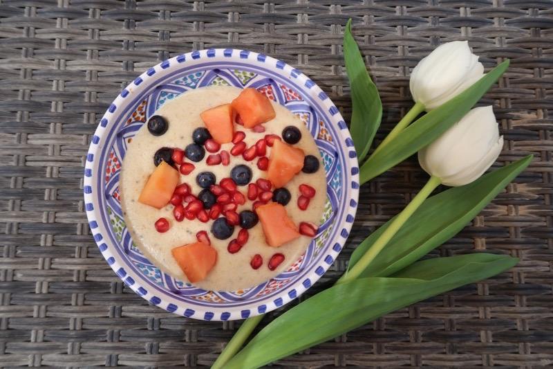 Paleo Porridge DoinDubai finished porridge
