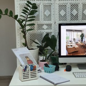 Staying at Home in Dubai DoinDubai plants in your work area