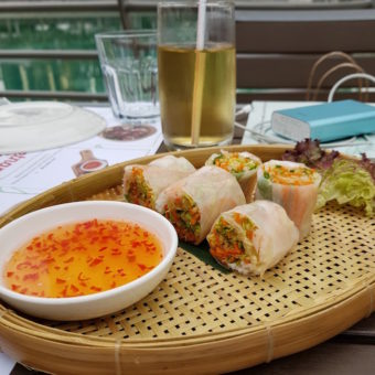 Image ofIts a foodie World Dubai DoinDubai Vietnamese Foodies Summer Rolls