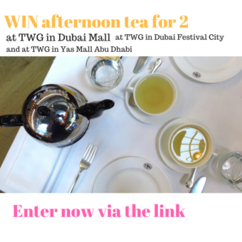 WIN afternoon tea for 2 Food news and reviews