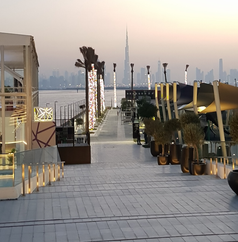 Image of interesting iftar setting DoinDubai Dubai Creek Harbour