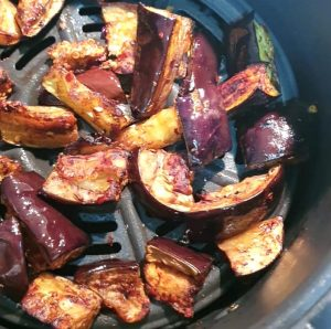 AIR FRYER AUBERGINES DOINDUBAI final aubergines