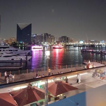 Image ofAl Seef Dubai DoinDubai boat view