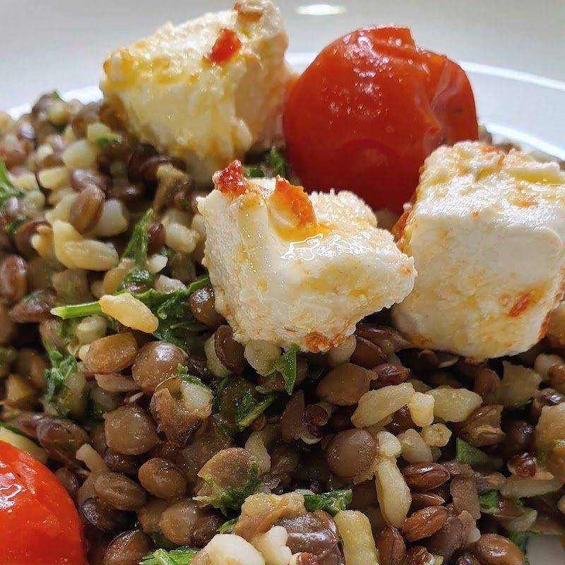 Easy Vegetarian Meal DoinDubai Monica Kapila Lentils and quinoa very quick and easy
