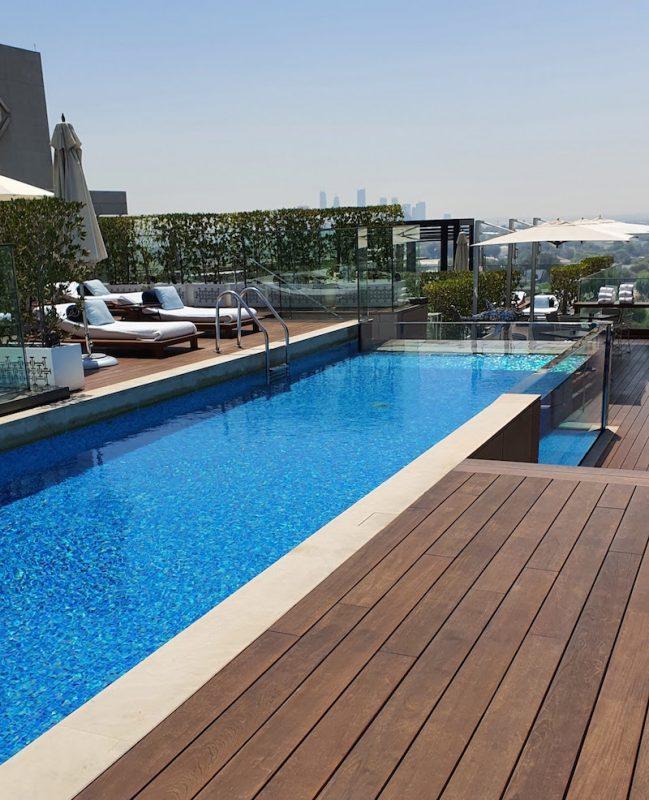 Four Seasons Hotel DIFC Monica Kapila DoinDubai long pool view
