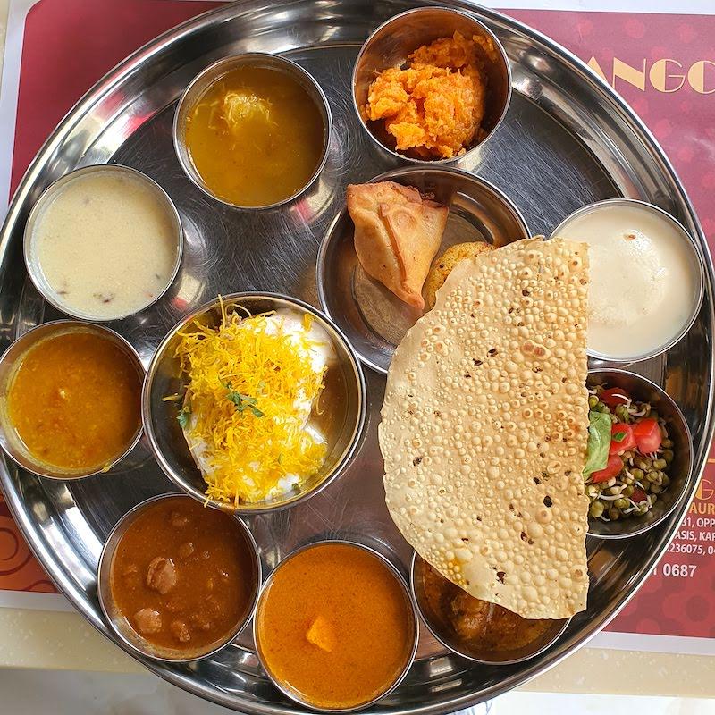 MONEY SAVING DEALS DOINDUBAI MONICA KAPILA Thali at Rangoli Karama Cafe