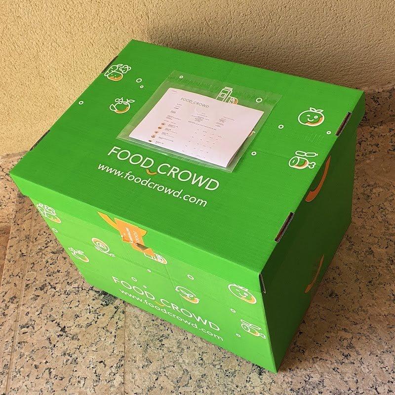 Voucher Skout DoinDubai Monica Kapila Food Crowd Delivery box closed