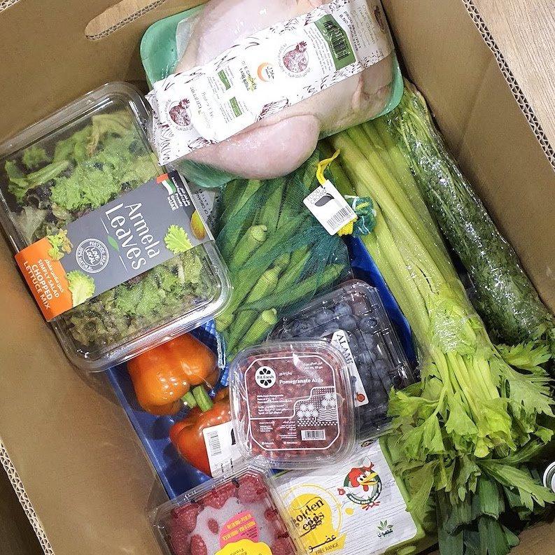 Voucher Skout DoinDubai Monica Kapila good amount of organic food