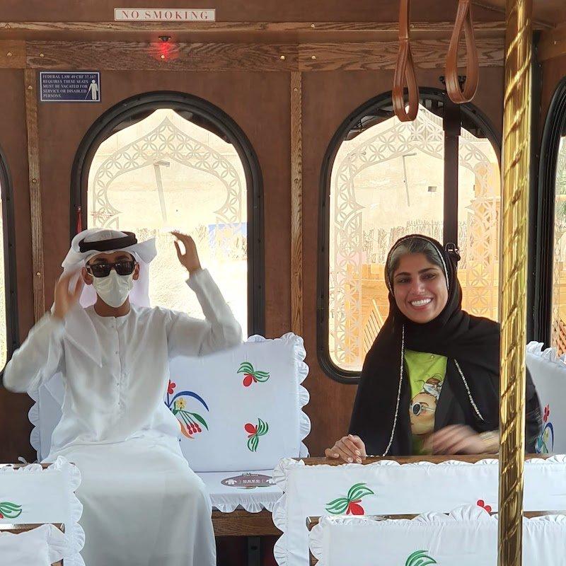 Heritage Express Dubai DoinDubai Moinca Kapila Emirati Guides Moving Majlis