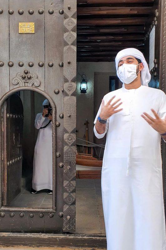 Heritage Express Dubai DoinDubai Moinca Kapila Small Door within Larger Door
