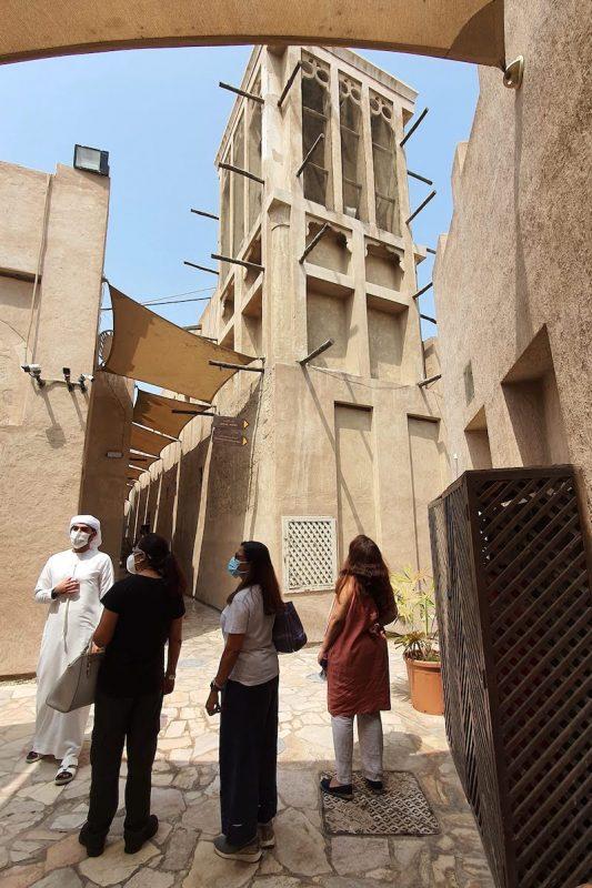 Heritage Express Dubai DoinDubai Moinca Kapila Wind Tower design Al Fahidi